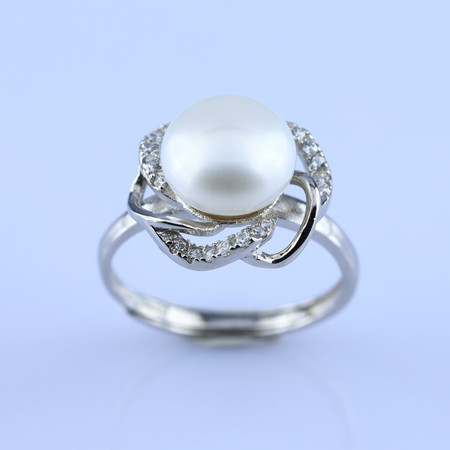 CMD-465Pea Pearl Ring
